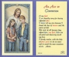 Act Of Contrition Laminated Holy Card, # 59024
