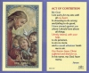 Act Of Contrition Laminated Holy Card, # 99979