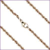 "18"" French Rope Chain, 2.4mm wide, 14kt Gold Filled, # 11478"