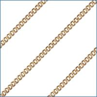 "24"" Endless Curb Chain, 2.5mm wide, 14kt Gold Filled, # 2369"