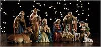 "5"" Michael Adams 9-pc Nativity Set, # 3839"