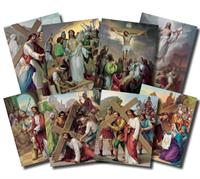 "Stations of the Cross Poster Set, 12""x16"", # 5959"