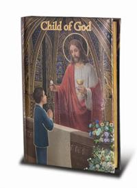 """CHILD OF GOD"" FIRST COMMUNION PRAYER BOOK for Boys, # 6370"