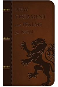 New Testament and Psalms for Men, # 8046