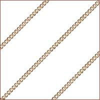 "30"" 14kt Gold Filled Endless Curb Chain, 1.9mm wide, # 9498"