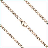 "18"" Cable Flat Chain, 2.95mm wide, 14kt Gold Filled, # 9576"