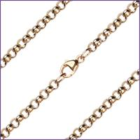 "20"" Medium Rolo Chain, 3.3mm wide, 14kt Gold Filled, # 9638"