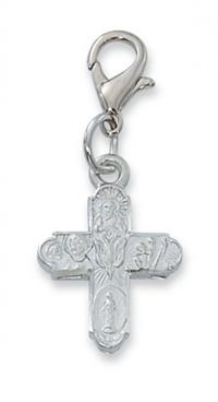 Clip - On Pewter Medal, 4-Way, # 97686