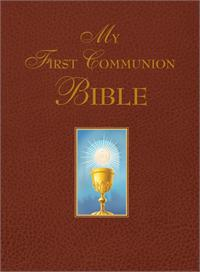 My First Communion Bible (Burgundy), # 99341