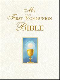 My First Communion Bible (White), # 99342
