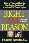 Right And Reason Second Edition, Rev. Fr. Austin Fagothey, # 16003