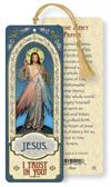 Chaplet of Divine Mercy Laminated Gold Foil Bookmark, 10-Pack, # 24462