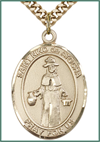 14kt Gold Filled Medal, 1