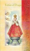 Infant of Prague Folding Prayer Card, 10-pack, # 59133