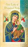 Our Lady of Perpetual Help Folding Prayer Card, 10-pack, # 59134