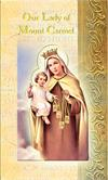 Our Lady of Mount Carmel Folding Prayer Card, 10-pack, # 59142
