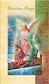 Guardian Angel Folding Prayer Card, 10-pack, # 59151