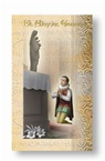 St. Aloysius Folding Prayer Card, 10-pack, # 60292