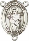 St. Aedan of Ferns Rosary Center, Sterling Silver, 3/4
