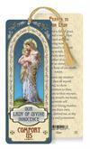 Our Lady of Divine Innocence Laminated Gold Foil Bookmark, 10-Pack, # 7100