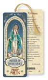 Our Lady of Grace / Memorare Laminated Gold Foil Bookmark, 10-Pack, # 7102
