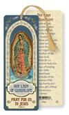 Our Lady of Guadalupe Laminated Gold Foil Bookmark, 10-Pack, # 7103