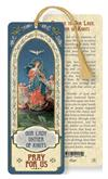 Our Lady Untier of Knots Laminated Gold Foil Bookmark, 10-Pack, # 7106