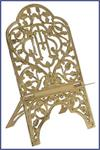 FOLDING BRASS MISSAL STAND #7309