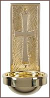 Brass Holy Water Font, # 7340