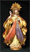 Divine Mercy by Carmine Apolito in hand-painted and hand-crafted ceramic, 14