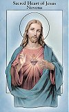 Sacred Heart of Jesus Novena Pamphlet, 10-pack, # 5395