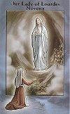Our Lady of Lourdes Novena Pamphlet, 10-pack, # 6921