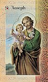 St. Joseph Folding Prayer Card, 10-pack, # 59221