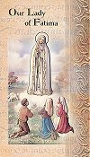 Our Lady of Fatima Folding Prayer Card, 10-pack, # 59137