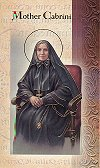 Mother Cabrini Folding Prayer Card, 10-pack, # 59171