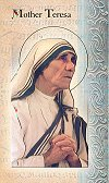 Mother Teresa Folding Prayer Card, 10-pack, # 59217