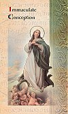 Immaculate Conception Folding Prayer Card, 10-pack, # 59139