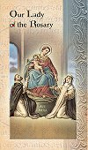 Our Lady of the Rosary Folding Prayer Card, 10-pack, # 59144