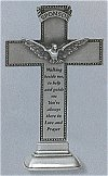 Confirmation Sponsor Pewter Standing Cross 6